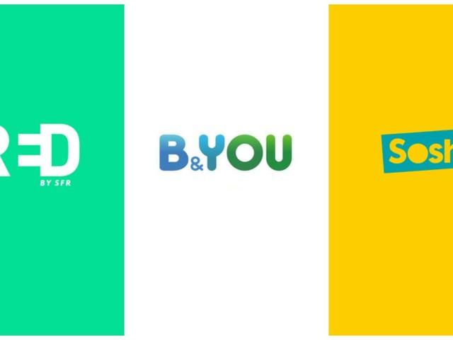 SFR RED vs Sosh vs B&YOU : quel opérateur choisir pour son forfait mobile ?