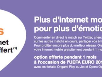 Orange double la data sur les forfaits mobiles pendant un mois (et ce gratuitement !)