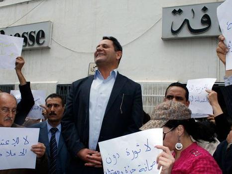 Menaces contre la liberté de la presse en Tunisie, avertit le syndicat des journalistes