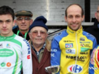 Cyclo-cross - sur l'île d'or à Amboise (37) : Encore une pour Ludovic Renard (VS Chartrain) - (Serge BRARD)