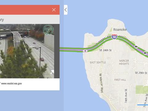 Bing Maps : 35.000 caméras permettent de suivre le trafic routier