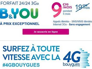 #NosClientsDabord Bouygues Telecom : plus que 3 jours pour -50% sur les forfaits