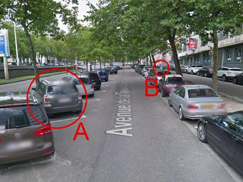 Histoire belge: Benedikt a reçu une amende car il s'est garé à gauche dans cette rue… mais a payé son parcmètre à droite !