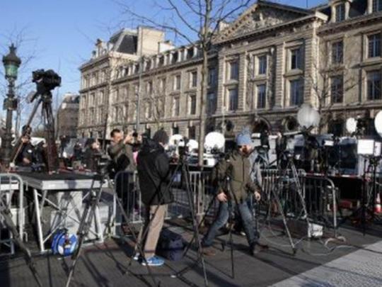 Marche républicaine: Paris rendez-vous mondial des médias