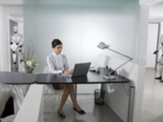 Robots au travail: le bureau du futur sera un open space rempli de robots et avatars