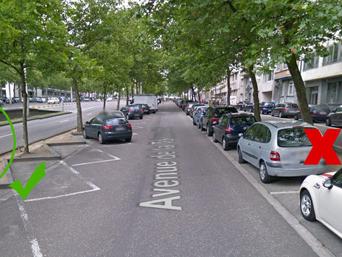 Histoire belge: Benedikt a reçu une amende car il s'est garé à gauche dans cette rue… mais a payé son parcmètre à droite!