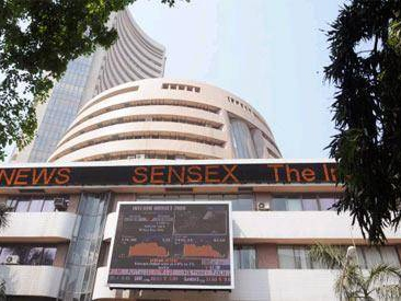 Sensex builds on gains, surges 90 points ahead of GDP data