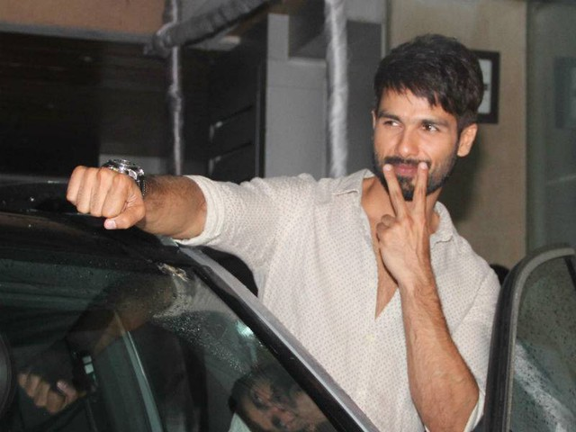 Shahid will not sell his baby's pictures