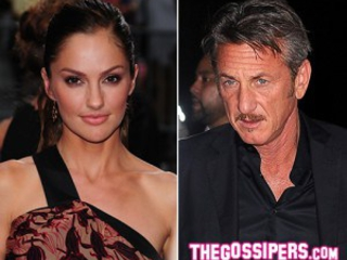 Sean Penn e Minka Kelly a cena insieme