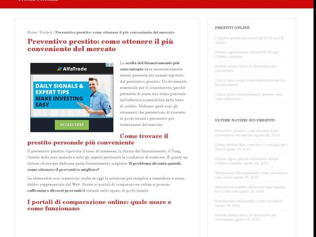 Preventivo prestito: come ottenere il più conveniente del mercato - Finanza - Anygator.com