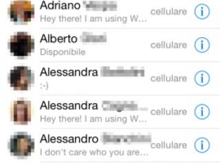 Whatsapp su iOS 7.1: tutti i trucchi per lavorare al meglio