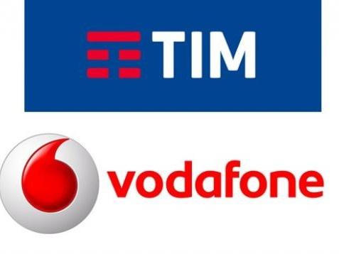 Offerte TIM e Vodafone telefono e internet con fibra ottica, promozioni Sky e TimVision