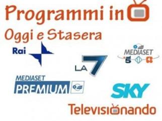 Domenica 22 Febbraio 2015, film fiction trasmissioni Rai e Mediaset programmi tv stasera