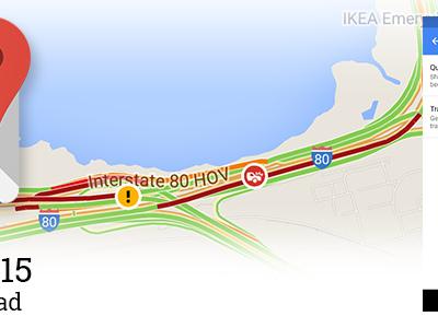 Google Maps 9.15 per Android permette la disattivazione delle info sul traffico
