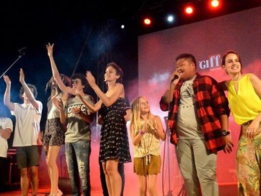Braccialetti Rossi, il cast in concerto a Casal de Principe per il Giffoni 2015