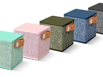 Fresh 'n Rebel, disponibili i nuovi accessori della collezione Rockbox Cube Edizione in Tessuto