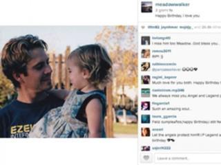 Paul Walker, la figlia posta foto ricordo per il 41esimo compleanno
