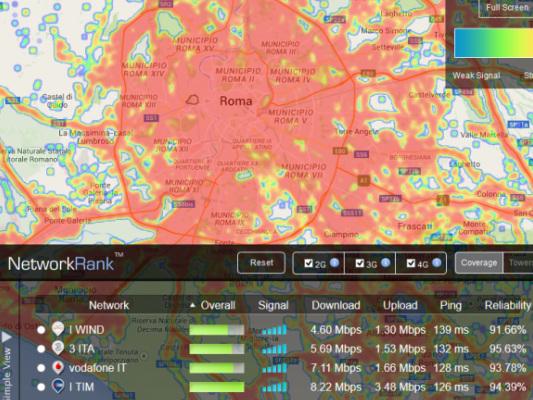 Telefonia - Ecco quale operatore telefonico prende meglio nella tua città (max89x)