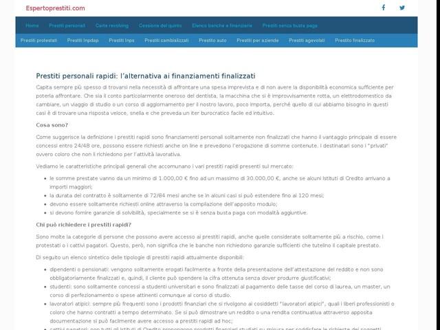 Prestiti Personali e Finanziamenti 100% Online ...