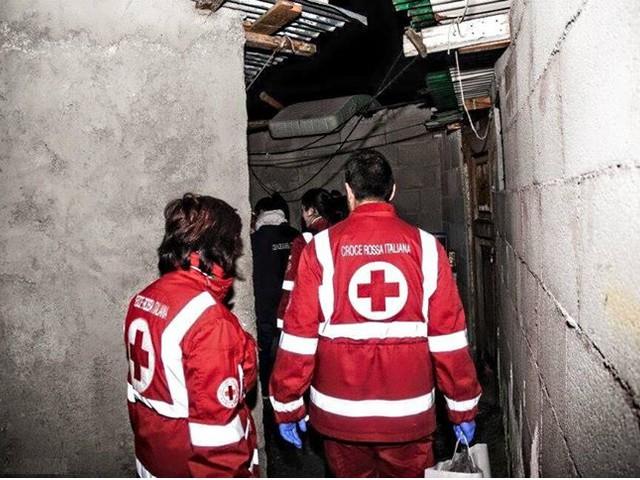 Freddo, la Croce Rossa di Roma in campo con unità di strada per i senza fissa dimora