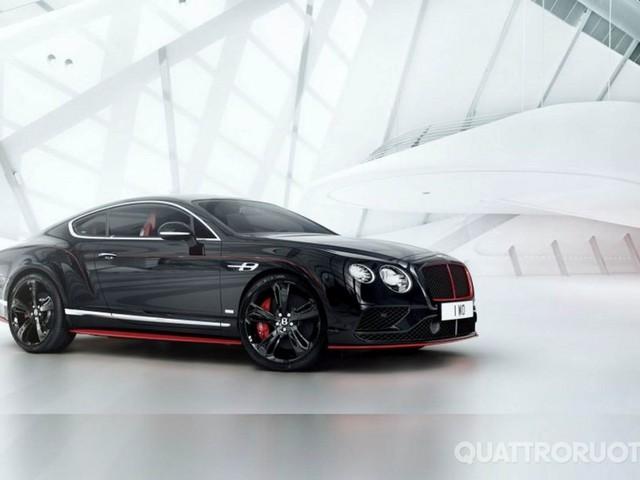 Bentley Continental GT - Presentata la serie speciale Black Speed