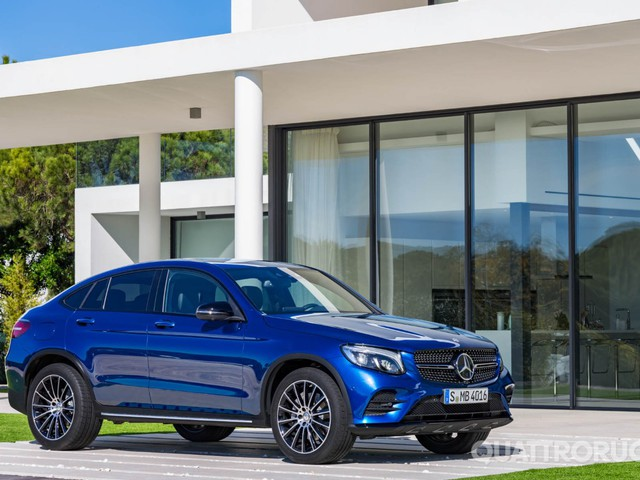 Mercedes-Benz GLC Coupé - A New York in anteprima mondiale
