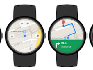 Android Wear completamente Adattato a Google Maps