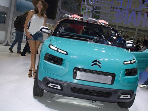 Citroën Cactus M a Francoforte 2015