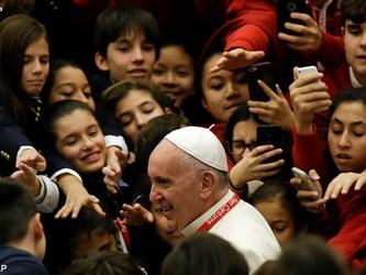 Papa ai Pueri Cantores: il bene è Dio anche se non fa notizia