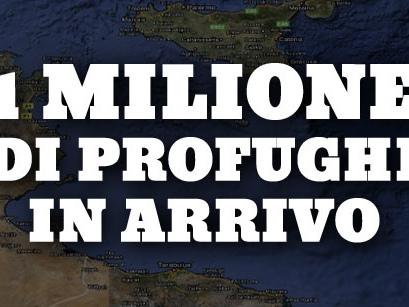 Un milione di profughi in arrivo