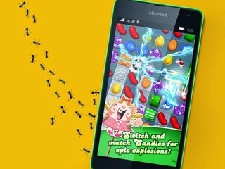 Candy Crush Saga disponibile su Windows Phone