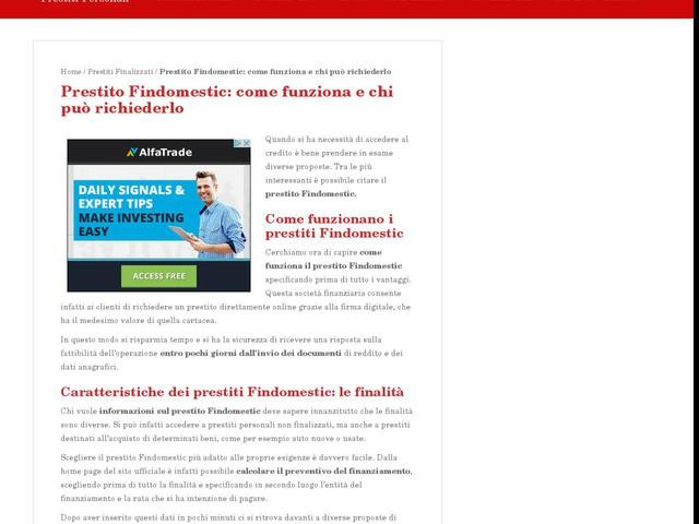 Prestito Findomestic: come funziona e chi può richiederlo - Finanza - Anygator.com