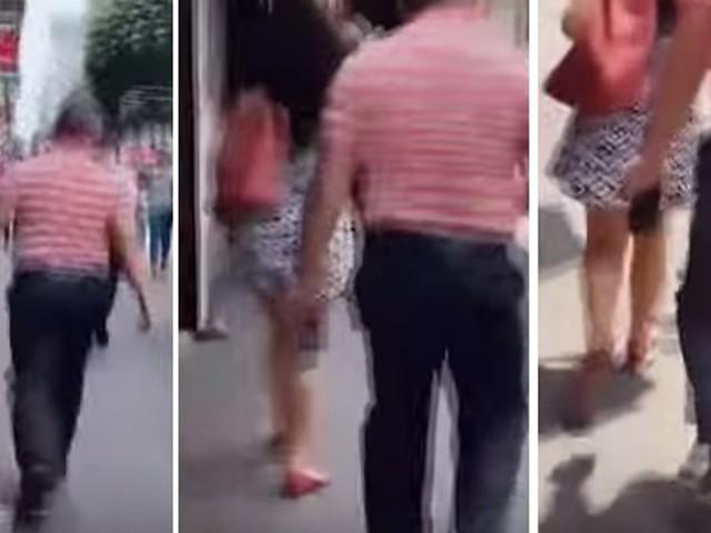 Riprendeva le ragazze sotto le gonne: beccato guardone - VIDEO