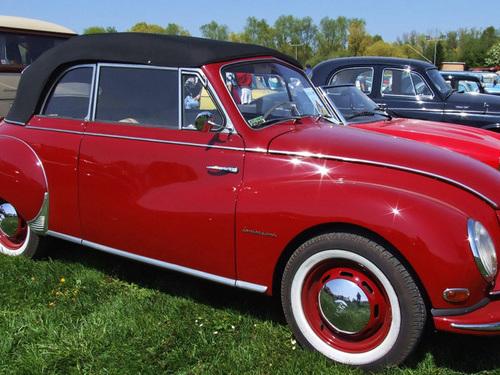 DKW Sonderklasse Cabriolet 4 posti (1953): scoperta a due tempi