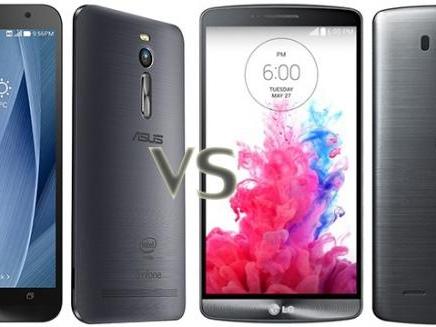 LG G3 vs Asus ZenFone 2: ecco il confronto e i prezzi tra i due smartphone