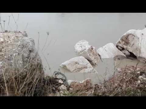 Giulianova, sopralluogo sull'argine eroso. Al via i lavori (VIDEO/FOTO)