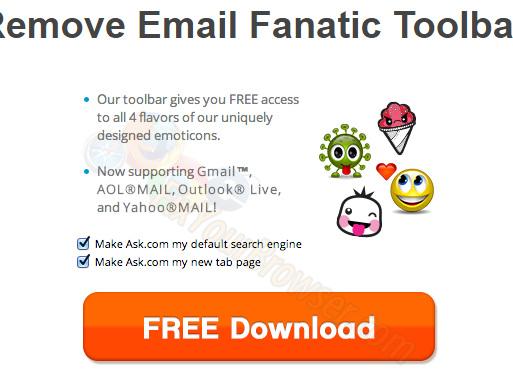 Come rimuovere Email Fanatic Toolbar