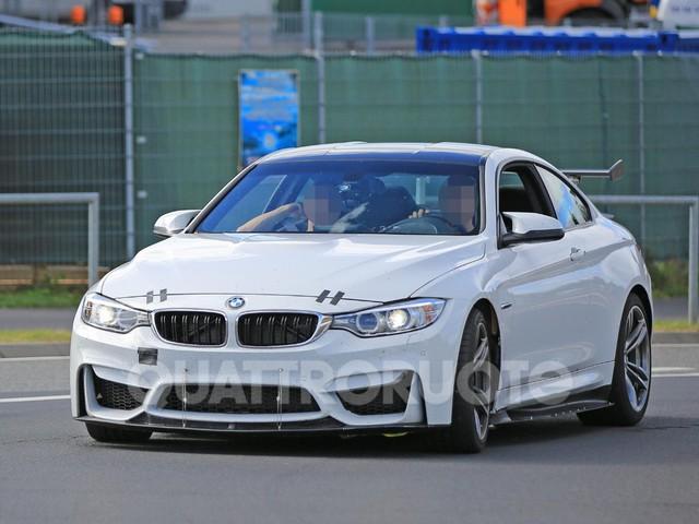 BMW M4 Coupé - Collaudi al Ring per migliorare l'aerodinamica