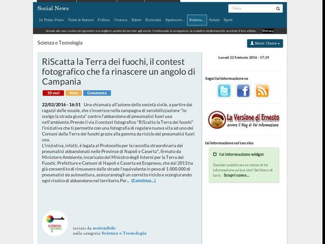 RiScatta la Terra dei fuochi, il contest fotografico che fa rinascere un angolo di Campania
