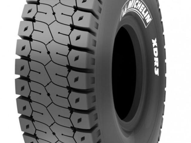 Michelin: 10% in più di vita con la XDR3 da miniera