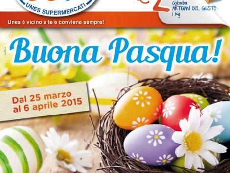Volantino Unes: offerte dal 25 marzo al 6 aprile 2015