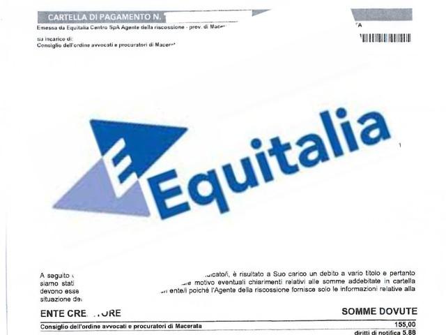 Equitalia - Il governo rottama anche le multe
