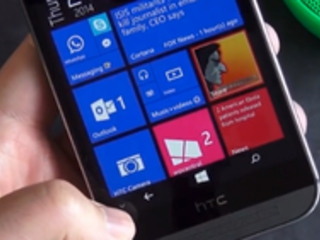 HTC One M8 con Windows Phone: ecco come funziona la navbar (video)