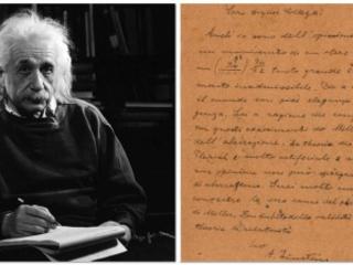 Lettera Di Einsten In Italiano All'Asta Per 55.000 Dollari #einstein #relatività