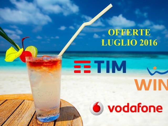 Offerte Tim, Wind e Vodafone mobile e ADSL: promozioni migliori di luglio 2016 per telefono fisso, fibra e internet mobile