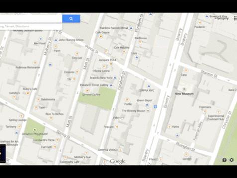 Pac-Man invade Google Maps