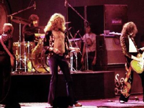 led zeppelin videoclip: