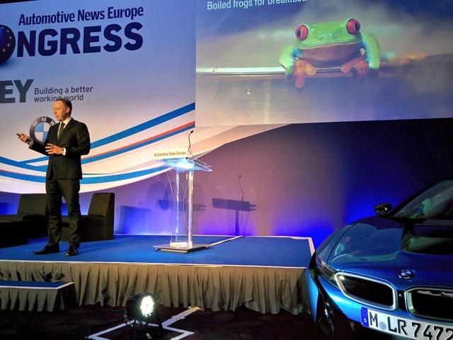 "Automotive News Europe Congress - Robertson: ""Elettriche e Phev ..."