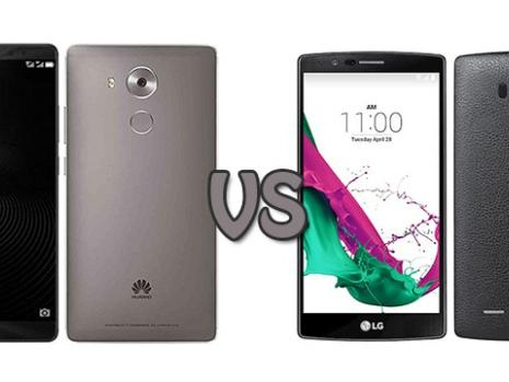 Huawei Mate 8 vs LG G4: confronto prezzi, specifiche e funzionalità