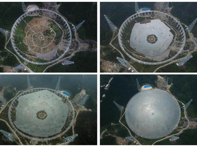 Cina, quasi pronto il super radiotelescopio Fast: inizia la ricerca della vita aliena [GALLERY]